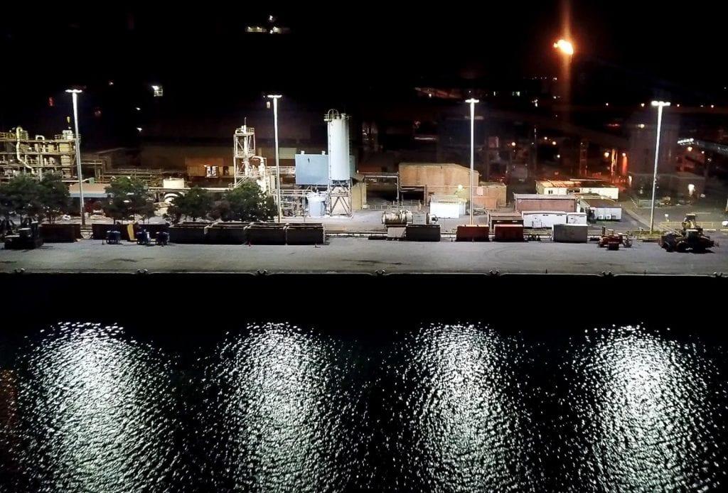 BlueScope docks