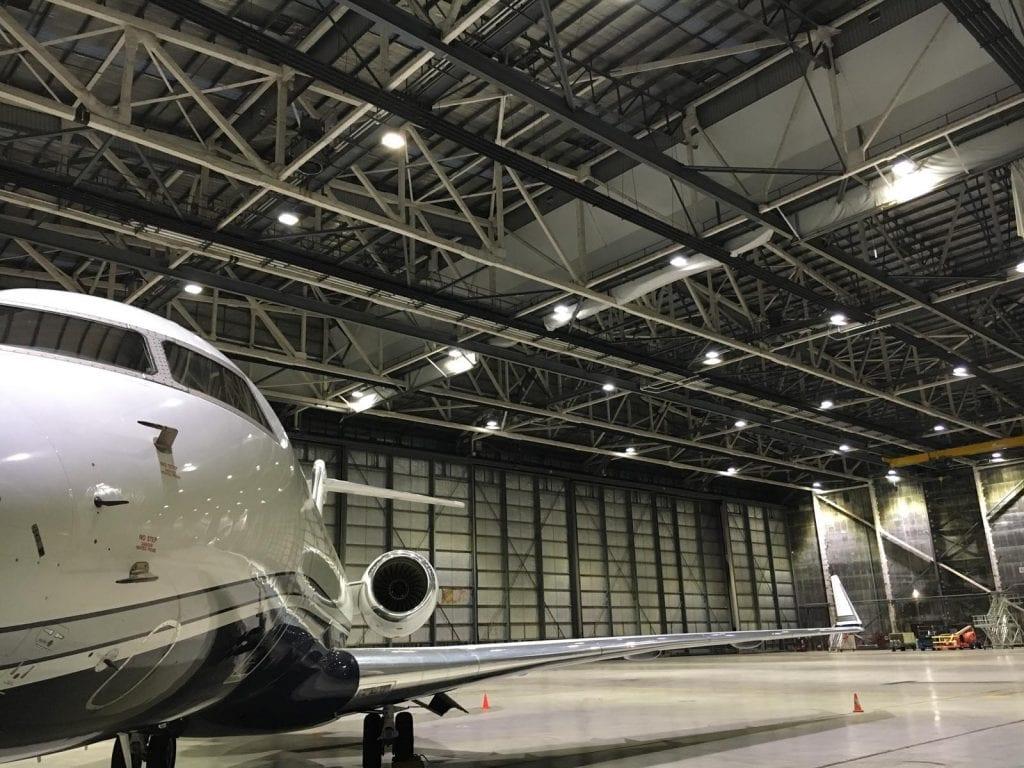 Melb Aviation Precinct hangar