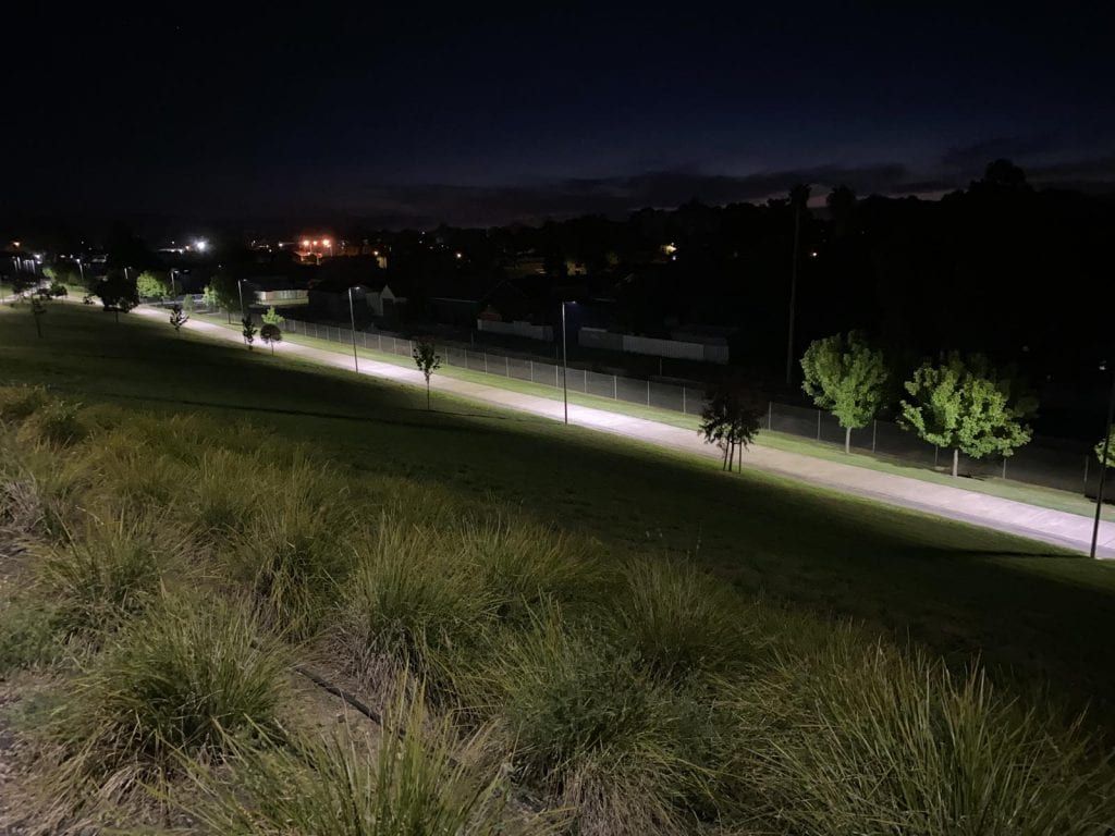 Thurgoona bike path